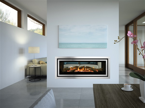 New Regency Greenfire GF1500LST See-through Gas Fireplace