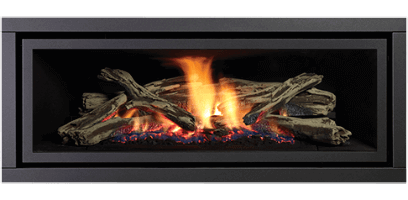 Greenfire GF1500L NZ Indoor Gas Fireplace