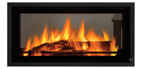 30mm trim Mansfield L850BST NZ Indoor Wood Fireplace