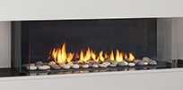 "City Series San Francisco Bay 40"" Gas Fireplace"